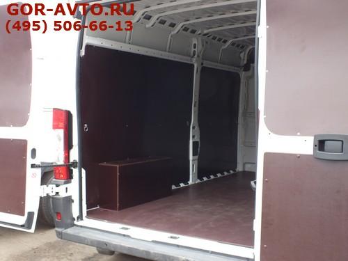 обшить фургон фанерой цена