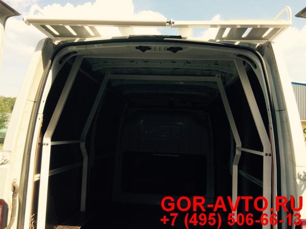 Багажник усиленный с роликами, стойками и настилом