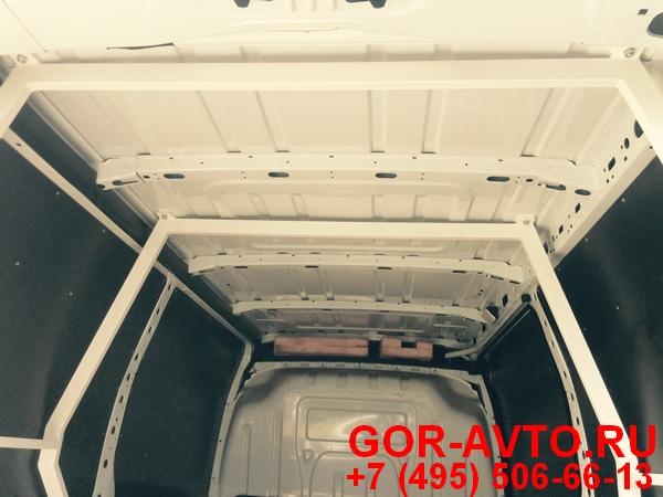 крепление багажника и усиление в кузове фургона