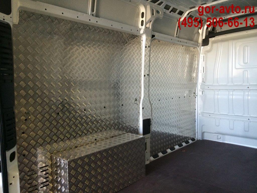 обшивка фургонов алюминием