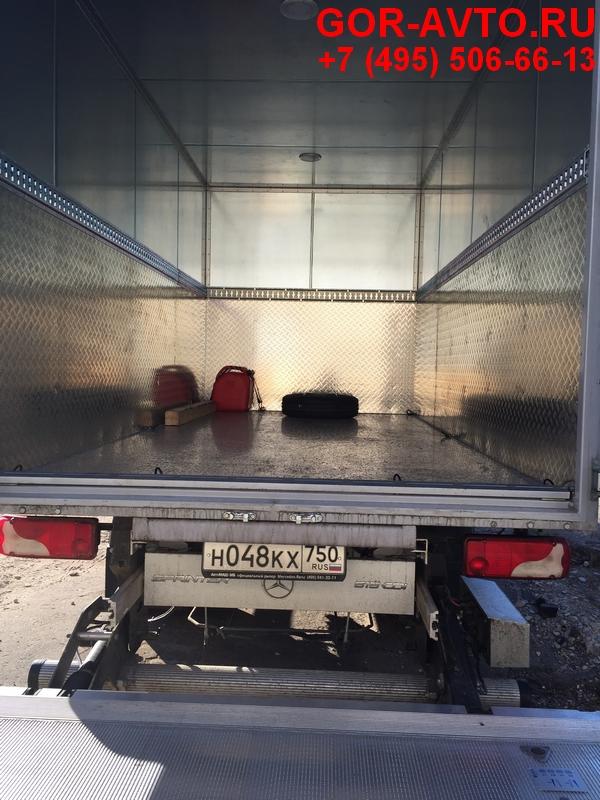 защитные полосы в фургон из алюминия