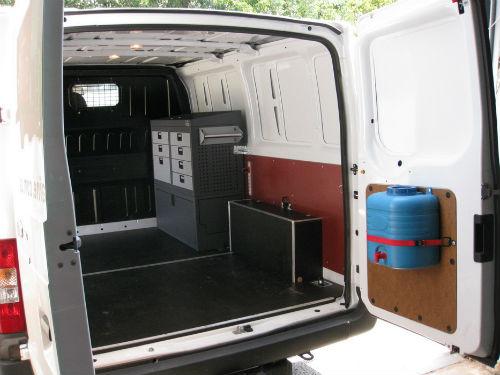 стеллаж в фургон
