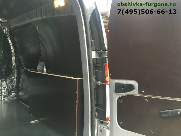 защитная обшивка фургона Рено Докео