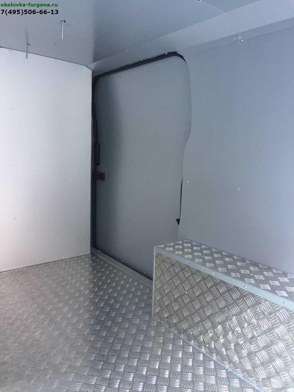 переделка форд транзит в изотермический фургон