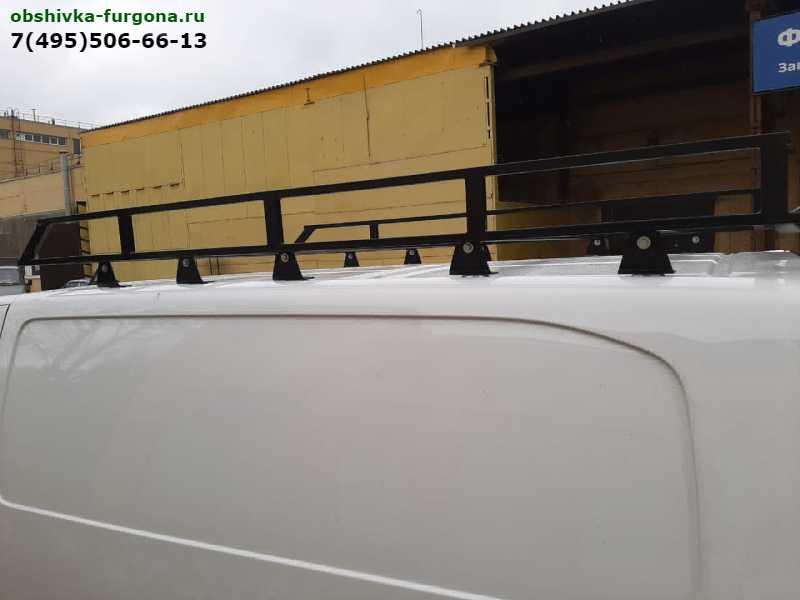 багажник на крышу peugeot expert