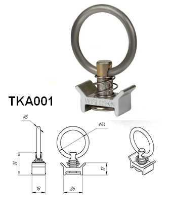 такелажное кольцо ТКА 001