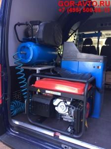 Оборудование для передвижного шиномонтажа